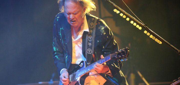 Neil Young 17.8.2008 Wiesen Lovely Days Festival