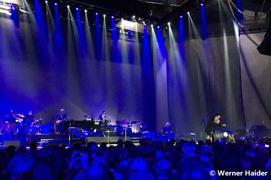 Nick Cave & The Bad Seeds 1.11.2017 Wien