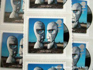 Pink Floyd 2010 The Division Bell Briefmarken