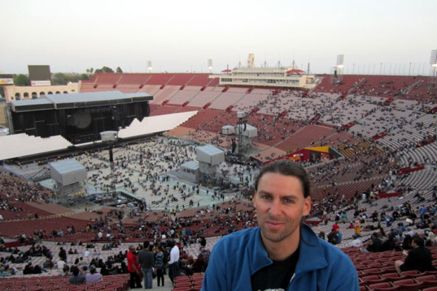 Roger Waters 19.5.2012 Los Angeles Coliseum