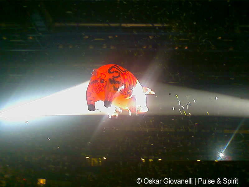 Roger Waters 23.4.2007 Mailand Datchforum
