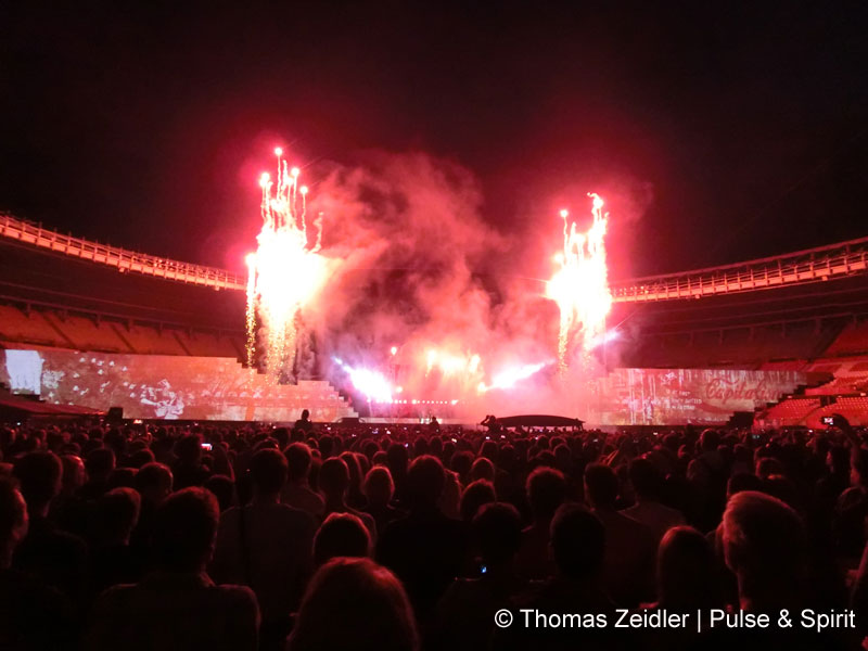 Roger Waters 23.8.2013 Wien Ernst Happel Stadion