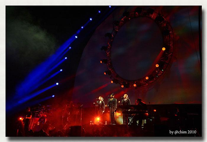 The Australian Pink Floyd Show 10.3.2010 Oberhausen König-Pilsner-Arena