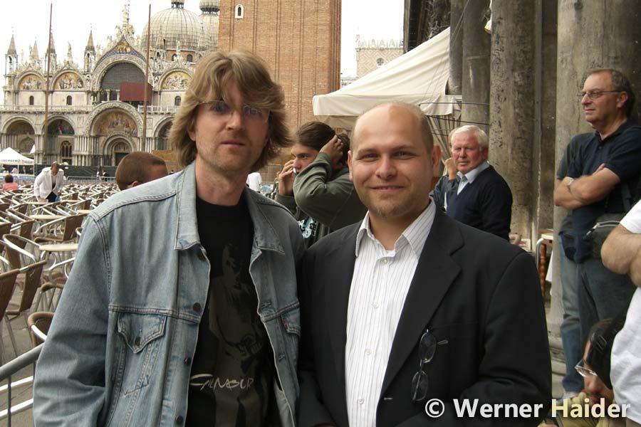 David Gilmour 12.8.2006 Venedig