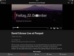 David Gilmour -Live at Pompeii Arte