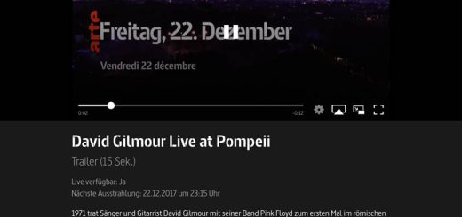 David Gilmour -Live at Pompeii Arte