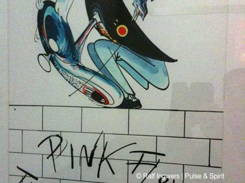"Gerald Scarfe 4.10.2009 ""Tear Down The Wall"" Ausstellung in Halle"