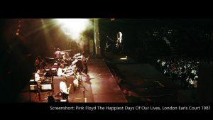 Pink Floyd 1981 London Earls Court