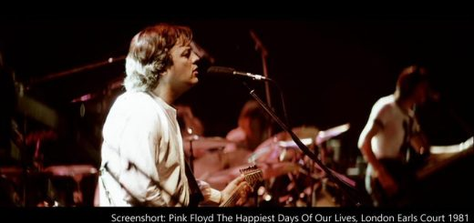 Pink Floyd 1981 London Earls Court