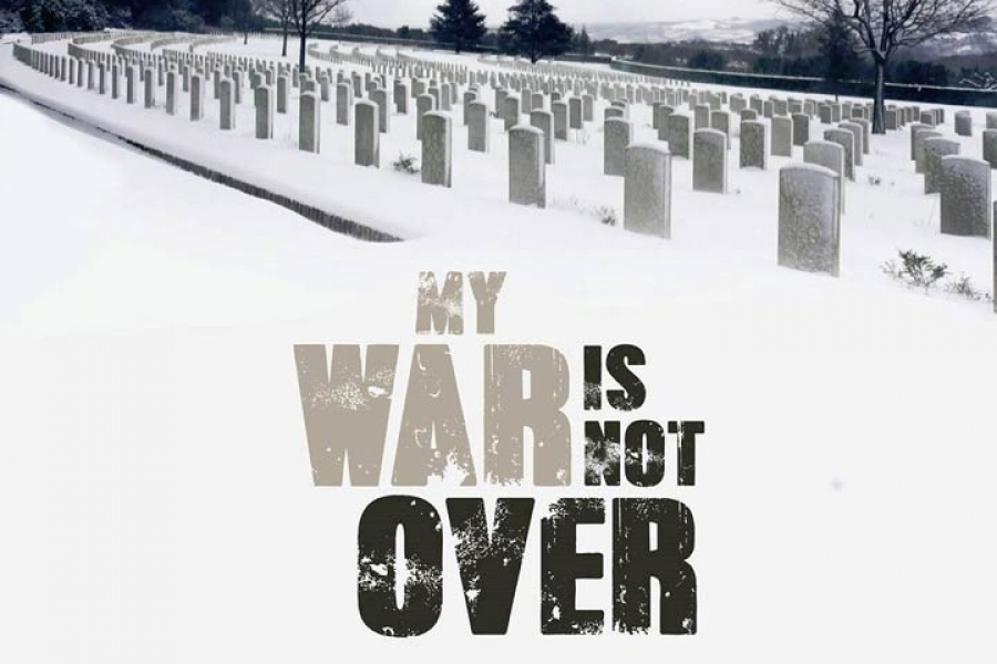 Harry Shindler - My war is not over (Poster)