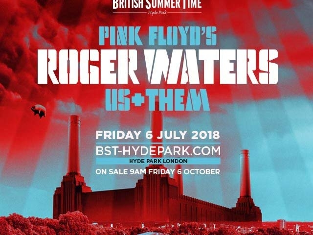 Roger Waters 2018 Hyde Park, Poster
