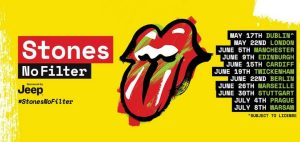 """The Rolling Stones """"No Filter"""" Tour"""
