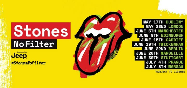 "The Rolling Stones ""No Filter"" Tour"
