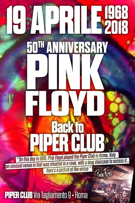 1968 Piper Club Rom Poster