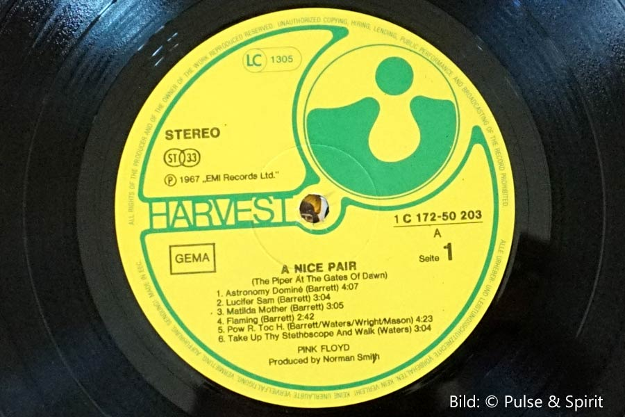 A Nice Pair, Label: EMI © Pink Floyd Music Ltd