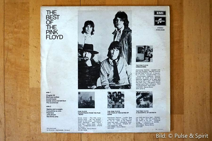 The Best Of The Pink Floyd - Vinyl