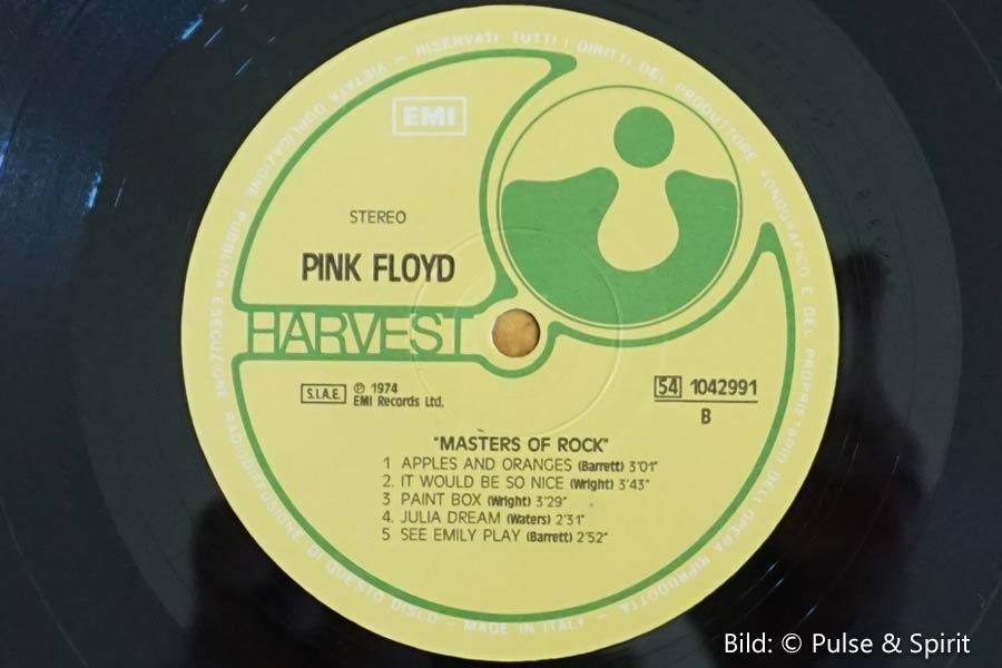 Masters of Rock, Vinyl, Label