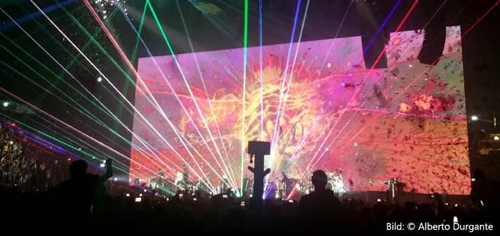 Roger Waters 17.4.2018 Mailand Mediolanum Forum