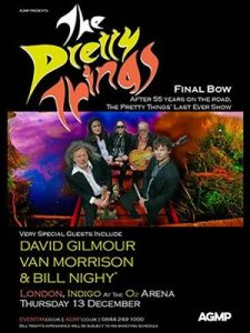 The Pretty Things & David Gilmour