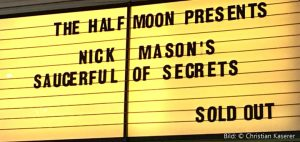 Nick Mason 23.5.2018 London The Half Moon