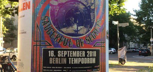 Nick Mason 16.9.2018 Berlin Poster