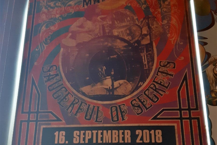 Poster: Nick Mason 16.9.2018 Berlin Tempodrom
