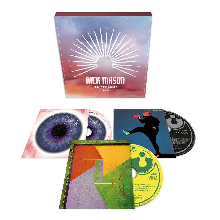 Nick Mason Unattended Luggage (3CD Boxset)
