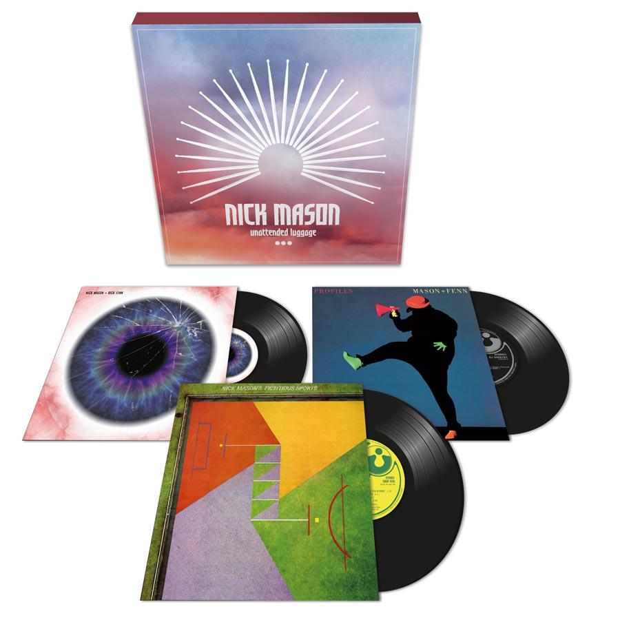 Nick Mason Unattended Luggage (3 Vinyl Boxset)
