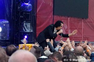 Nick Cave & The Bad Seeds 28.6.2018 Clam Burgarena