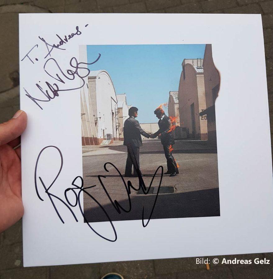 Roger Waters 2018 Köln Autogramm