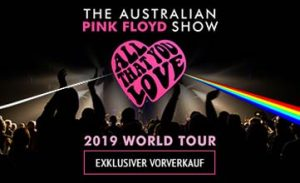 2019 The Australian Pink Floyd Show, Tickets