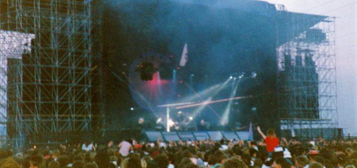 Pink Floyd 18.6.1988 Mannheim Maimarktgelände