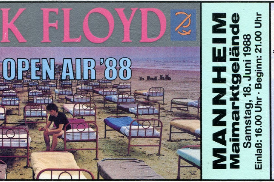 Pink Floyd 18.6.1988 Mannheim