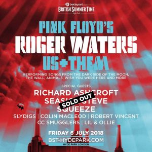 Roger Waters 6.7.2018 Hyde Park (Poster)