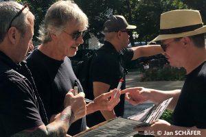 Roger Waters 5.8.2018 Gdansk Hotel Sheraton