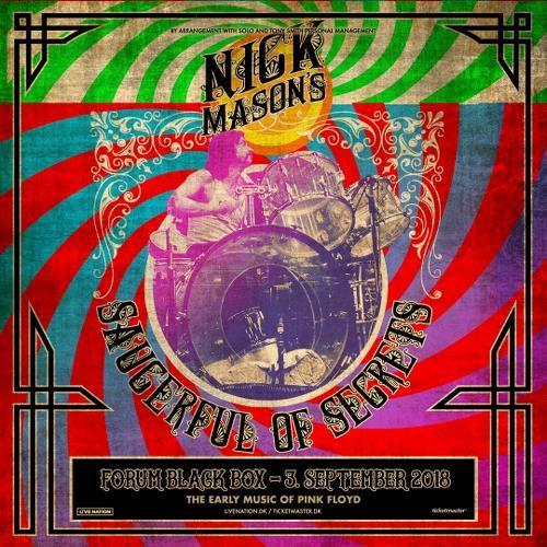 Nick Mason 392018 Kopenhagen Forum Black Box Pink Floyd News Und