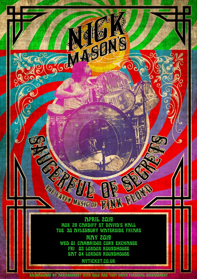 2019 Nick Mason S Saucerful Of Secrets Tour