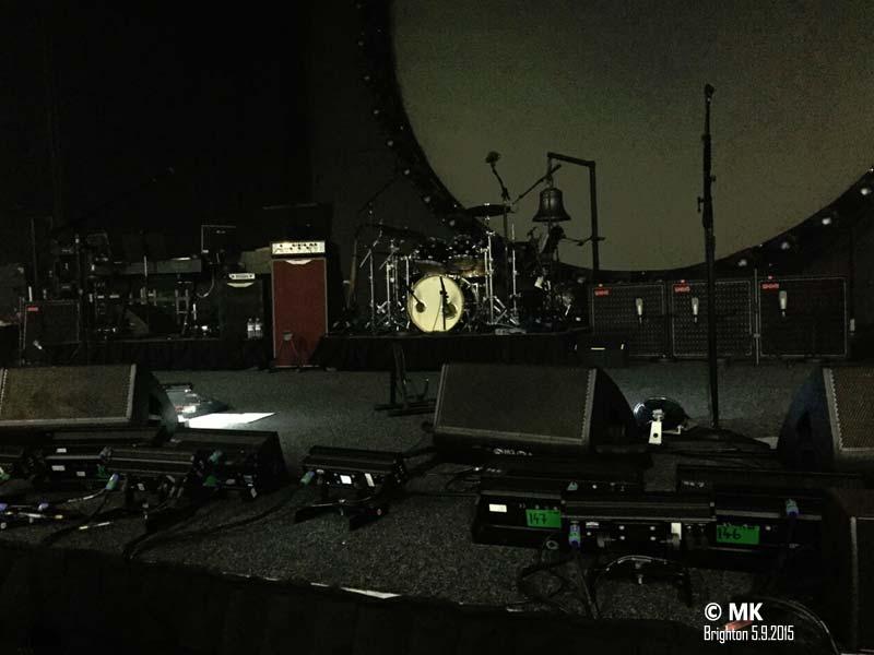 David Gilmour 5.9.2015 Brighton