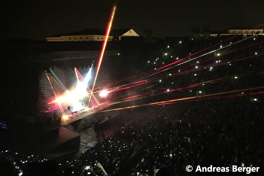 David Gilmour 11.7.2016 Verona Arena