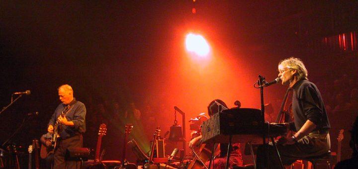 David Gilmour, Rick Wright 18.1.2002 London Royal Festival Hall