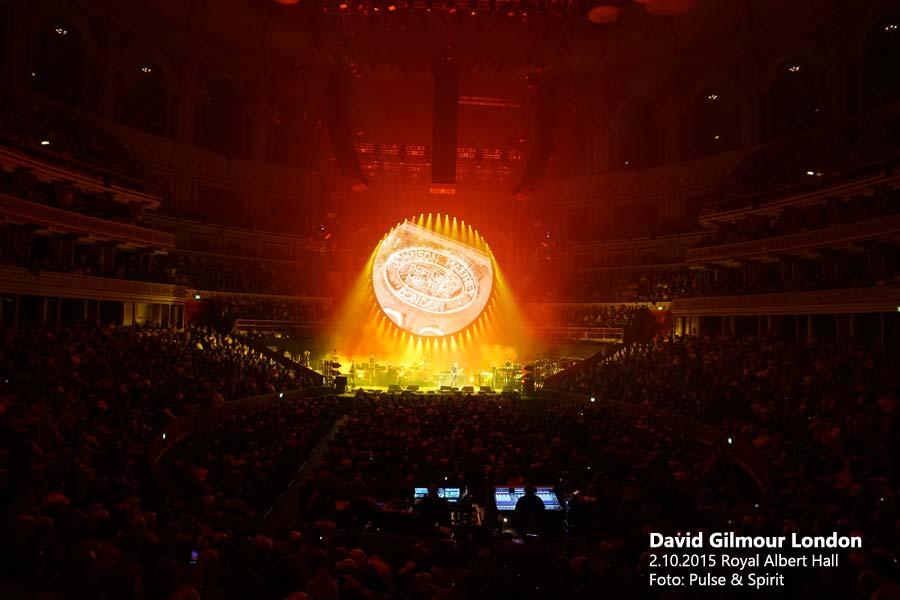 David Gilmour 2.10.2015 London