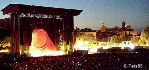David Gilmour 2.7.2016 Rom Circus Maximus
