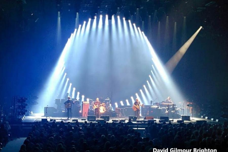 David Gilmour 5.9.2015 Brighton Centre