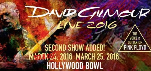 David Gilmour 25.3.2016 Hollywood Bowl