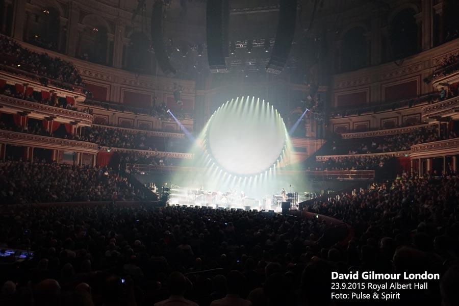 David Gilmour 23.9.2015 London
