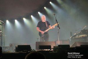 David Gilmour 19.9.2015 Oberhausen