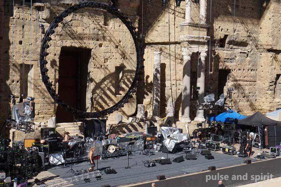 David Gilmour 17.9.2015 Orange Theatre Antique