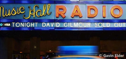 David Gilmour 10.4.2016 New York Radio City Music Hall