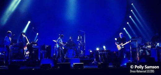 David Gilmour 3.9.2015 Rehearsal