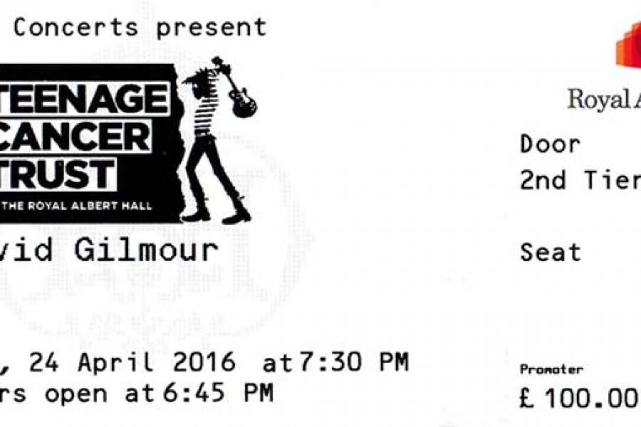 David Gilmour 24.4.2016 London